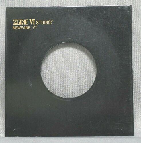 Zone VI Studios No. 1 Metal Lens Board Excellent Used