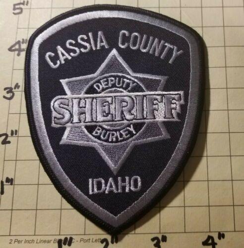 Cassia County (Burley, ID) Sheriff