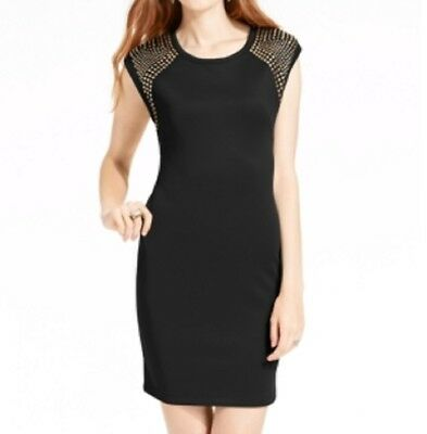 Marilyn Monroe Juniors' Studded Cap-Sleeve Dress, Black, XS](Marilyn Monroe Dresses)