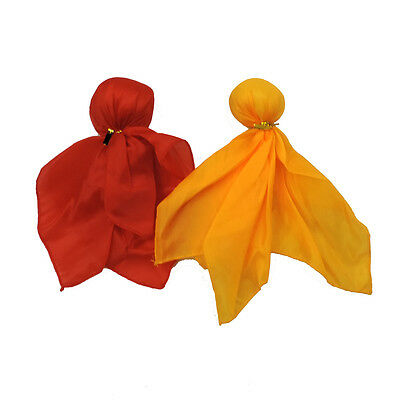 Red & Yellow Penalty & Challenge Flag Sports Fan Set Watch The Big - Yellow Penalty Flag