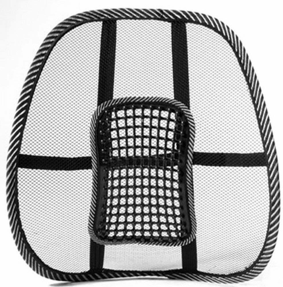 Lumbar Support Seat Car Lower Lumber Cushion Pain Relief Office Chair Mesh Back