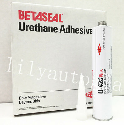 DOW U-428+ Auto Glass Windshield Urethane Primerless Adhesive Glue Sealant