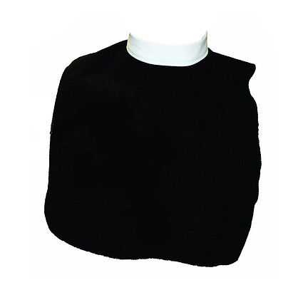 Adult Clerical Priest Pastor Roman White Collar Theater Costume Accessory