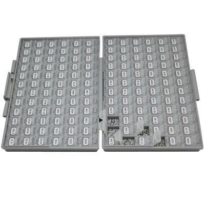 New Smt Smd 0805 1 Sample Resistor Kit W Enclosure 144vx10014400pcs Organizer