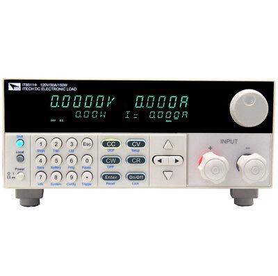 Itech It8511 120v30a150w Single-channel Programmable Dc Electronic Load Usa