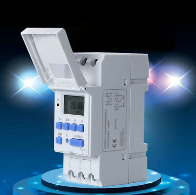 16a Digital Lcd Weekly Power Programmable Timer Acdc 12v Time Relay Switch D