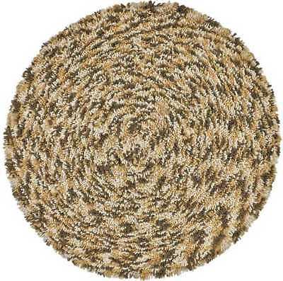 Shagadelic Chenille Collection Twist Swirl Rug 3' x 3' Round - Twist Swirl Rug