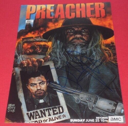 DOMINIC COOPER SIGNED PREACHER SAINT OF KILLERS 8X12 POSTER PHOTO AUTOGRAPH COA