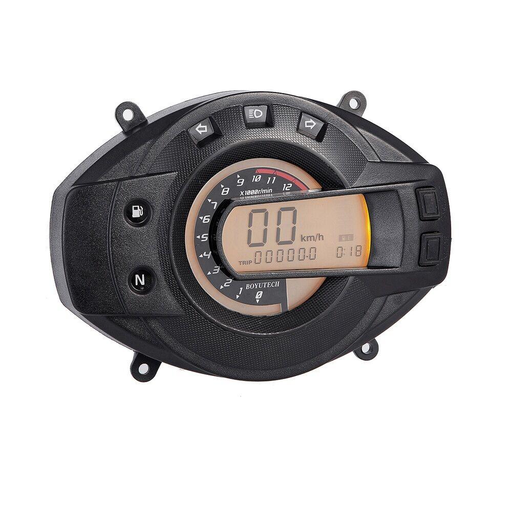 Digital Cockpit Speedometer Tachometer Fuel Gauge Dash Speedo Custom Tach SP3