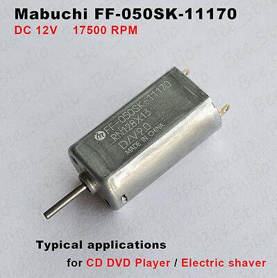 Mabuchi Ff-050sk-11170 Motor Dc 9v 12v 17500rpm High Speed For Car Av Cd Player
