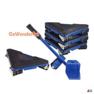 5 pcs Furniture Lifter Moves Wheels Mover Sliders Kit Home Moving Epping Whittlesea Area Preview