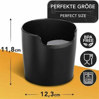 Residue Coffee Knock Box Shock-absorbent Espresso Waste Bin Without Handle