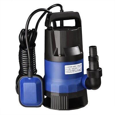 16000LPH Heavy Duty Submersible Water Pump Waste Aquarium Flood Pond Dirty Clean