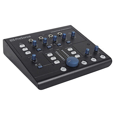 - PreSonus Monitor Station V2 Desktop Recording Studio Control Center