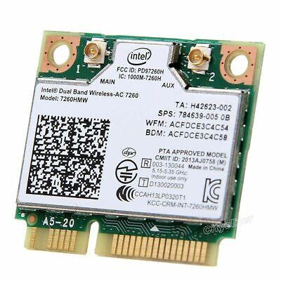 "HP EliteBook 850 G1 15.6/"" OEM Wireless WiFi Card 7260HMW-AN 717381-001GGTNW"
