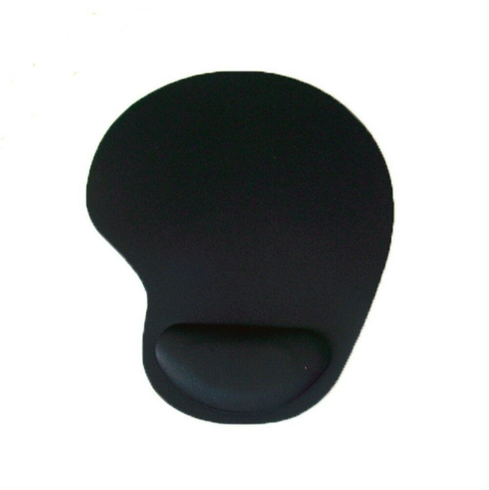 New Black Thin Wrist Comfort Mouse Rest Soft Comfort Mousepad Mice Mat Pad Computers/Tablets & Networking