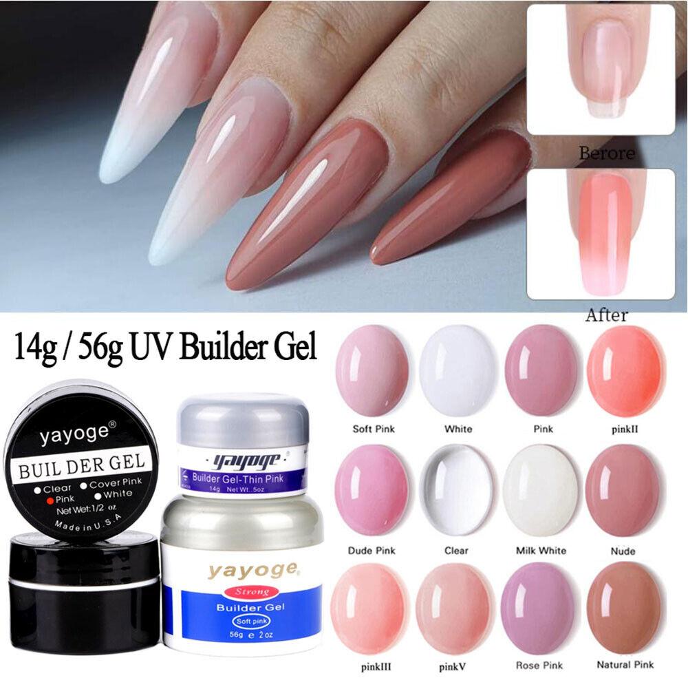 US UV Gel Nail Crystal Glue Nail Extension Prime Bonder Nail