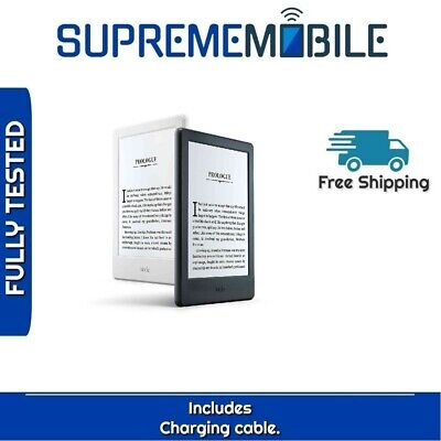 Amazon Kindle E-reader 8th Gen (Previous Generation) Wi-Fi Only Built-In Audible