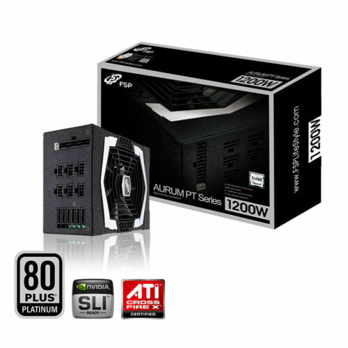 FSP Aurum PT-1200FM ATX 1200W 80+ Platinum Gaming Mining PC Desktop Power Supply
