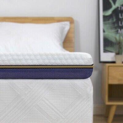 7,6cm Gelschaum Memory Topper Matratze BedStory Matratzentopper H2+H3 140x200CM