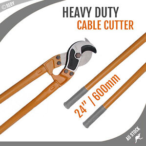 24-600mm-Cable-Cutter-Heavy-Duty-Copper-Wire-Rope-Pliers-Strong-Hard-Steel-NEW
