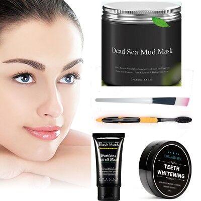Dead Sea Mud Mask Purifying Facial treatment Anti-Aging Oily Skin Blackheads Spa