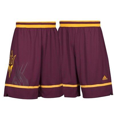 Arizona State Sun Devils NCAA Men's March Madness Maroon Basketball Shorts