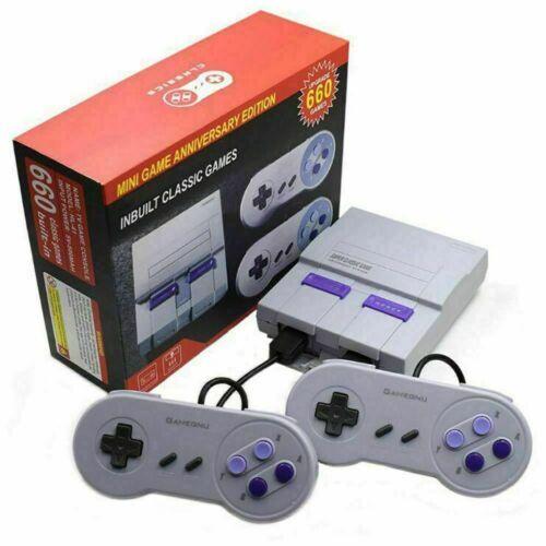 SNES 660 Games Built-In Super NES Console Classic Retro Game AV *FAST SHIPPING*