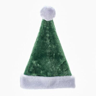 Plush Green Irish SANTA HAT, 17