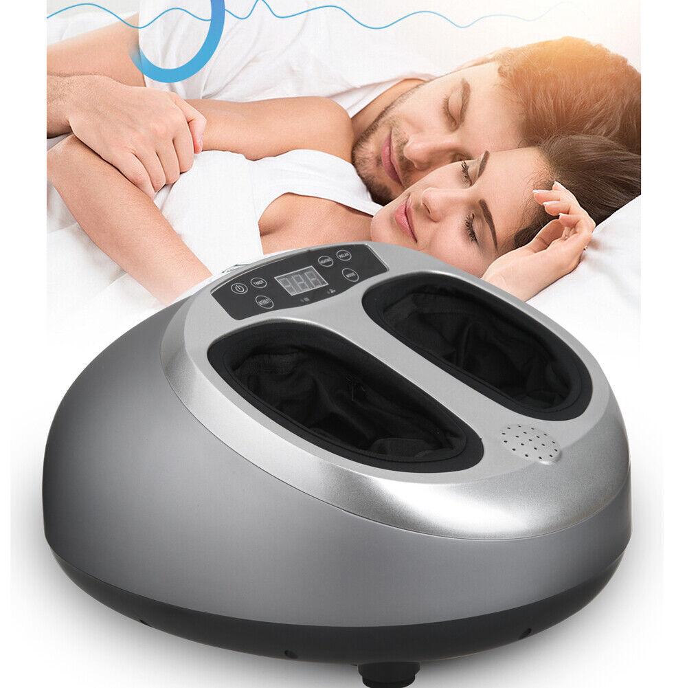 Fußmassagegerät mit Shiatsu Wärmefunktion Elektrisch Kneten Reflexzonen Massage