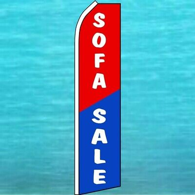 Sofa Sale Flutter Flag Tall Furniture Advertising Sign Feather Swooper Banner