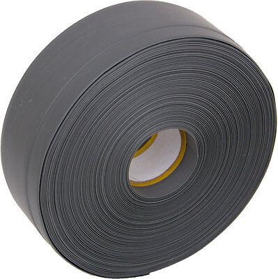 Weichsockelleiste selbstklebend PVC grau 10m Winkelleiste Knickprofil MS010