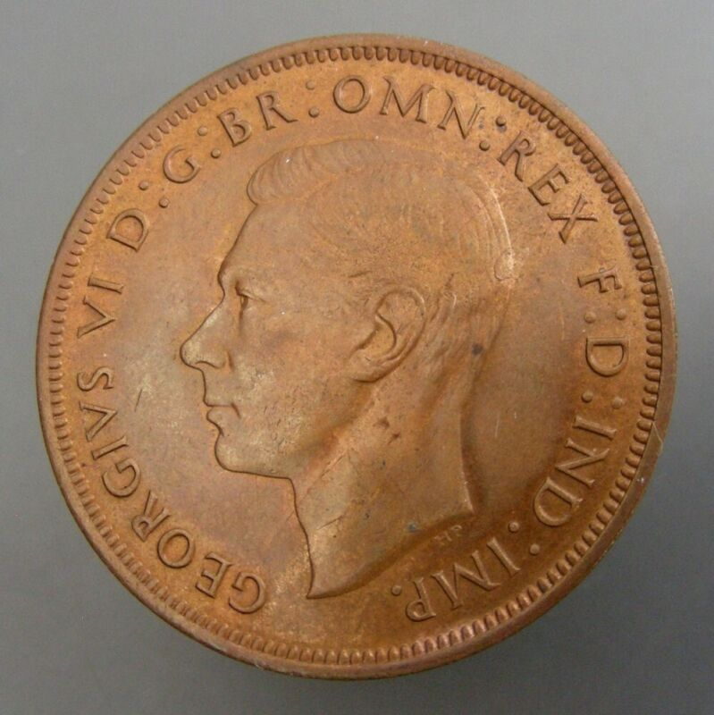 Great Britain 1940 One Penny Red & Brown UNC