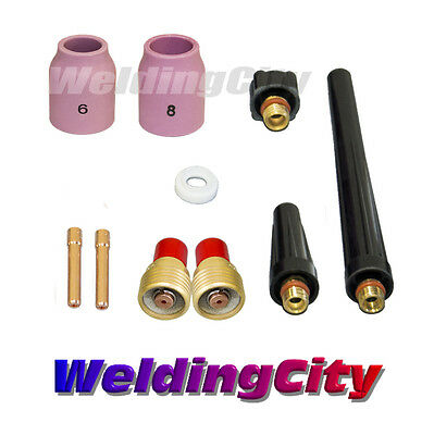 Tig Welding Gas Lens Accessory Kit 116 For Torch 92025 T39 Us Seller