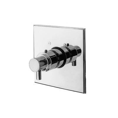 4 In Thermostatic Trim (Newport Brass - 3-1504TS/15S - 3/4'' Square Thermostatic Trim Plate with Handle )
