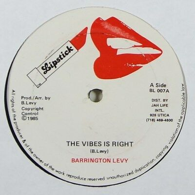 Barrington Levy  The Vibes Is Right  Reggae 12  Lipstick Mp3