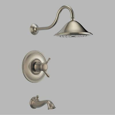 Brizo Traditional T60410-BN Brushed Nickel Thermostatic Tub & Shower Faucet ()
