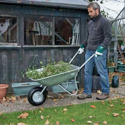 Draper Tools Galvanised Wheelbarrow (65L) - 31619