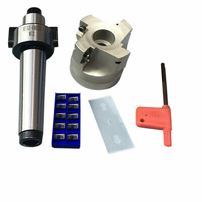 400r 50mm Face Shell Mill Cutter 10x Apmt1604 Carbide Insertsmt3-fmb22 Arbor
