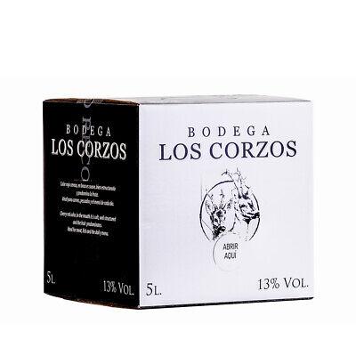 Bag in Box 5L Vino Tinto Recomendado Bodega Los Corzos13% Vol