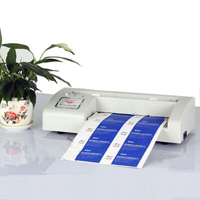 110v Business Card Cutter Electric Automatic Cutting Machine For 3.5x2 Card Us