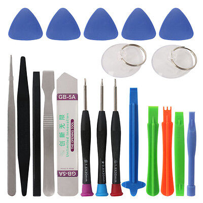 20 in 1 Mobile Phone Repair Tools Kit Spudger Pry Opening Tool Screwdriver M4F5 Mobile Phone Tools 4