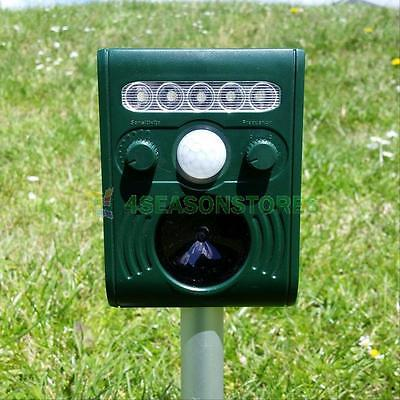 Solar Power Animal Repeller Stake Motion Detector ...