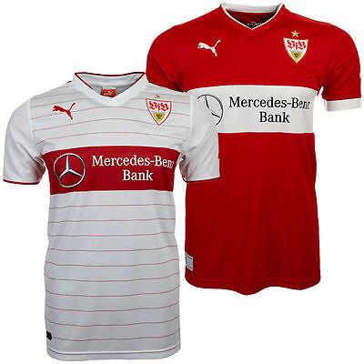 Heim- und Auswärtstrikot vom VFB Stuttgart 2014/15.