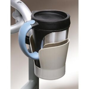 NEW PERSONAL PORTABLE WHEELCHAIR/WALKER CUP HOLDER