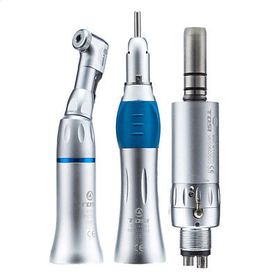 Tosi Dental Low Speed Handpiece Straight Contra Air Motor Midwest 4holes Tx-414a
