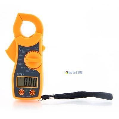 Ga87 Mini Clamp Type 1999 Lcd Digital Multimeter Acdc Voltage Ac Amp Meter Kk