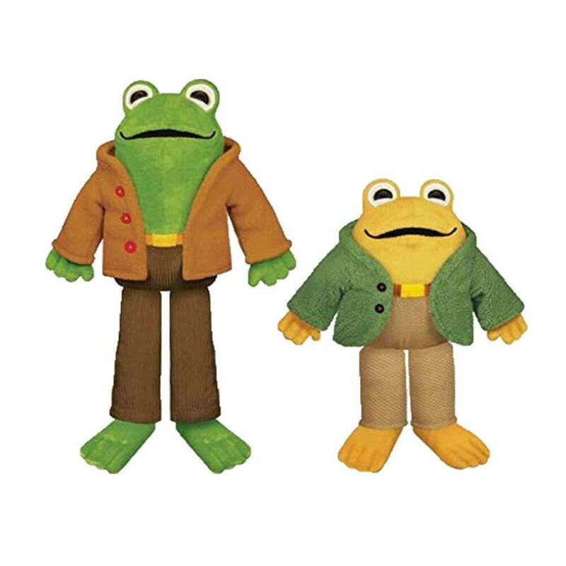 YOTTOY Frog and Toad Plush Friends (Frog & Toad Set)