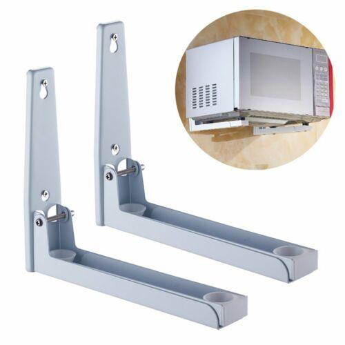 Edelstahl Mikrowellenhalterung Mikrowellenhalter Wandhalter Regal für bis 40 kg