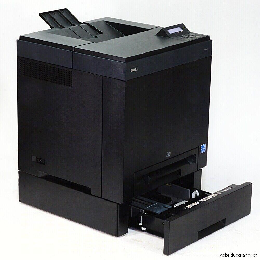 Dell imprimante 2130cn laser couleur avec carte réseau sous 40.000 pages